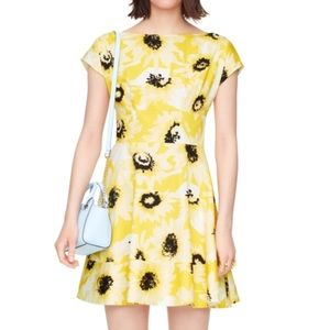 Kate Spade Sunny Day Fiorella Dress Yellow Floral